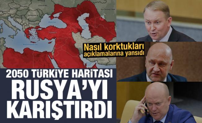 2050 Türkiye haritası Rusya'yı karıştırdı! Nasıl korktukları açıklamalarına yansıdı