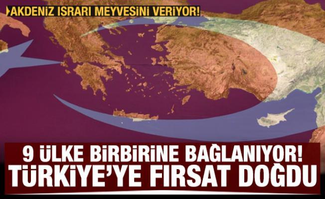 9 ülke birbirine bağlanıyor! Türkiye'ye fırsat doğdu