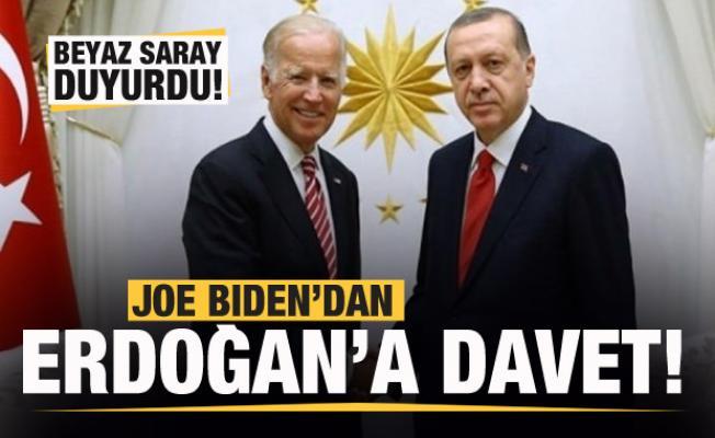ABD Başkanı Biden'dan Başkan Erdoğan'a davet mektubu