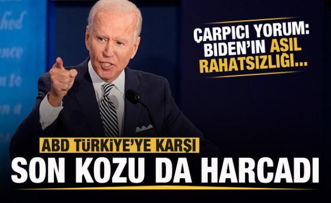 ABD, Türkiye'ye karşı elindeki son kozu da harcadı