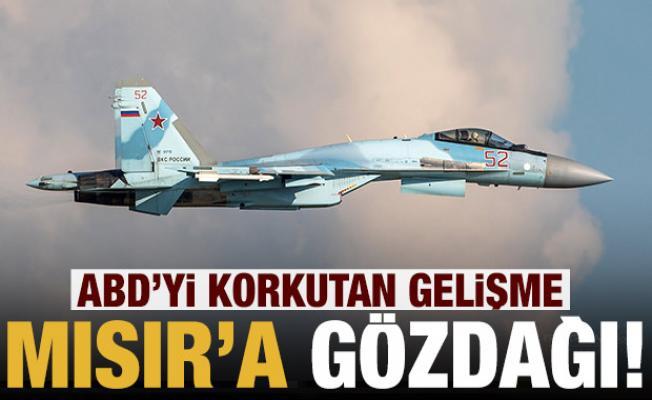 ABD'den Mısır'a gözdağı: Rusya'dan Su-35 almayın