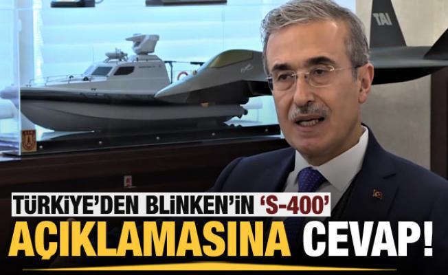 ABD'nin S-400 açıklamasına Başkan Demir'den yanıt!