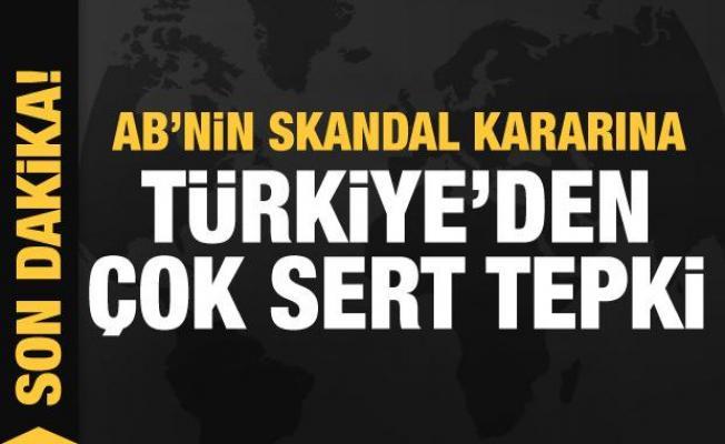 AB'nin skandal başörtüsü kararına Türkiye'den çok sert tepki