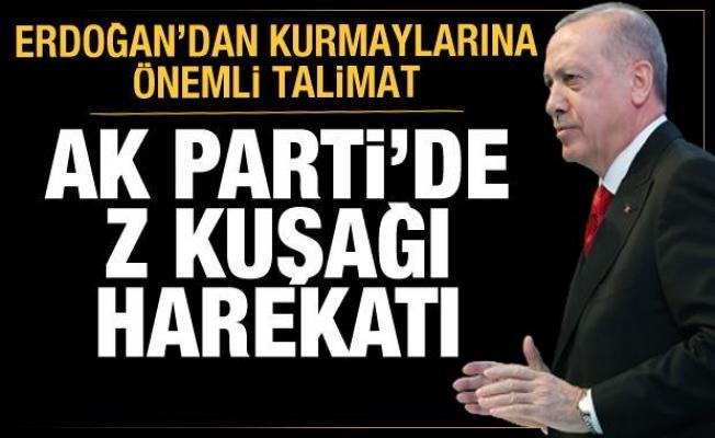 AK Parti'de Z kuşağı harekatı