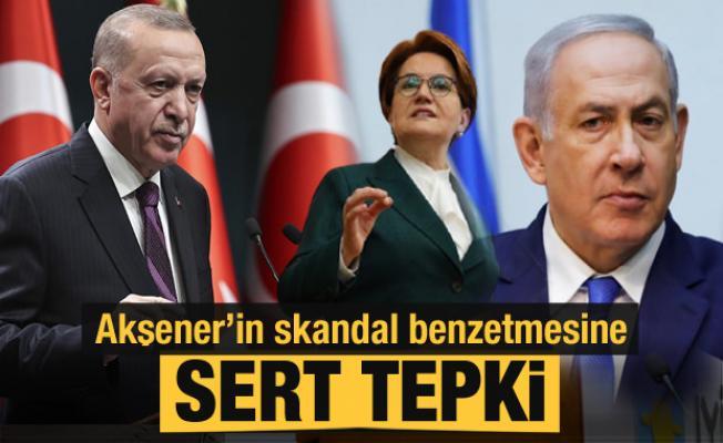Akşener'in skandal benzetmesine sert tepki!