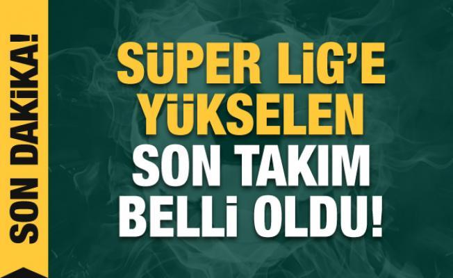 Altay 18 yıl sonra Süper Lig'de!
