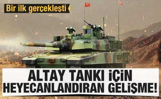 Altay Tankı için üretilen yerli motor ateşlendi