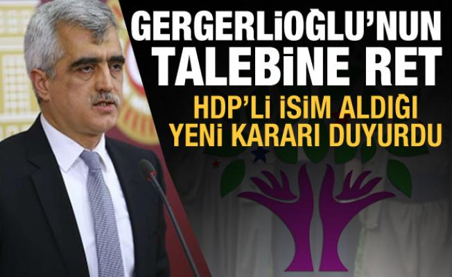 AYM'den Gergerlioğlu'nun talebine ret! HDP'li isim aldığı yeni kararı duyurdu