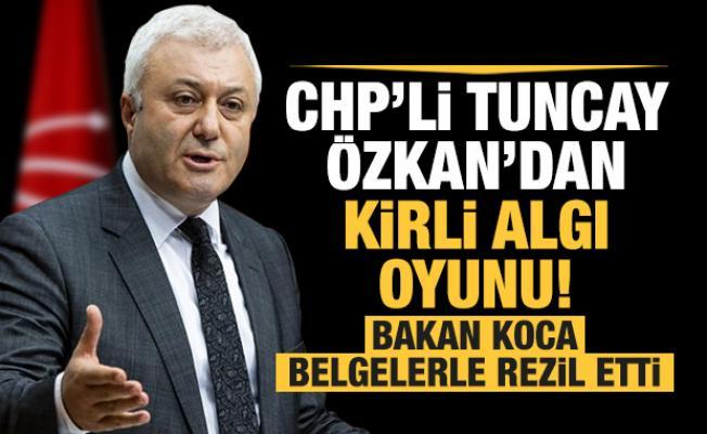 Bakan Koca'dan CHP'li Özkan'ın yalanına belgeli cevap