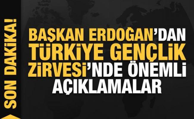 Başkan Erdoğan'dan gençlere önemli mesajlar