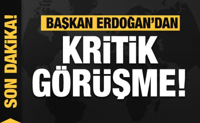 Başkan Erdoğan'dan İstanbul'da kritik görüşme!