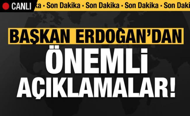 Başkan Erdoğan'dan son dakika uyarıları! 'Çok büyük operasyon çekiyorlar...'
