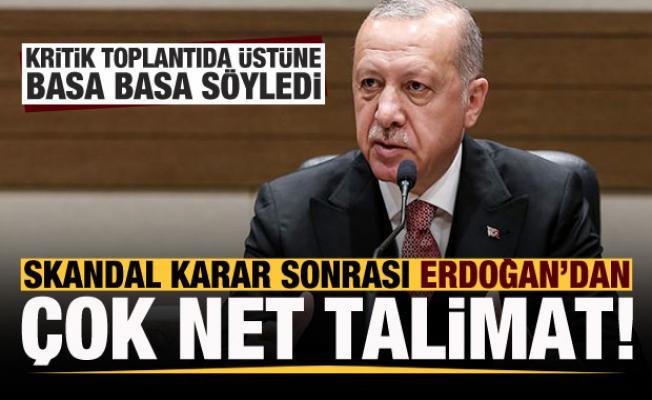 Biden'ın skandal kararıyla ilgili Erdoğan'dan kritik toplantıda net talimat!