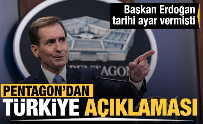 Biden'ın skandal sözlerinin ardından Pentagon'dan dikkat çeken Türkiye açıklaması