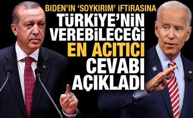 Biden'ın 'soykırım' iftirasına, Türkiye'nin verebileceği en acıtıcı cevabı açıkladı