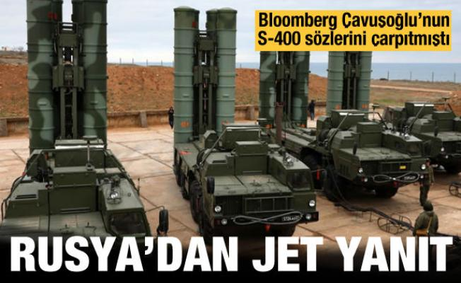 Bloomberg'in S-400 iddiasına Rusya'dan yalanlama