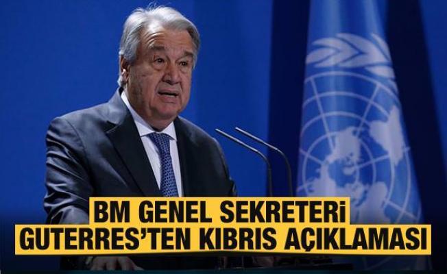 BM, Türkiye ve KKTC'den açıklama! 'Kıbrıs görüşmeleri olumsuz sonuçlandı'