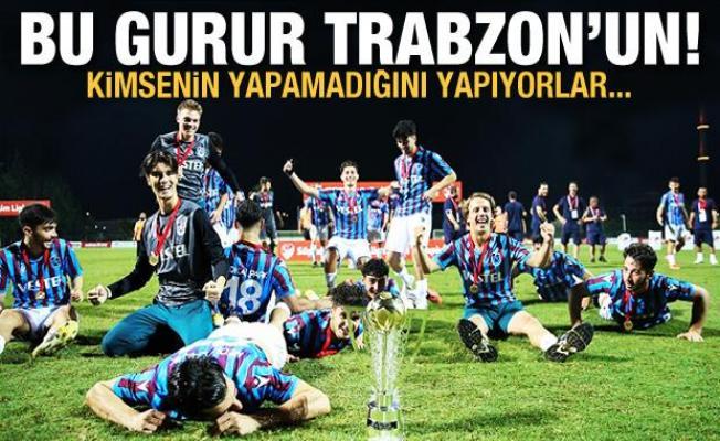 Bu gurur Trabzon'un! Kimsenin yapamadığını yapıyorlar