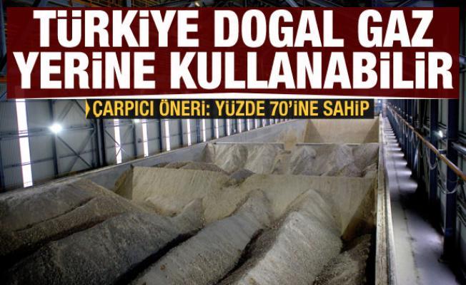 Çarpıcı öneri: Türkiye, doğal gaz yerine kullanılabilir