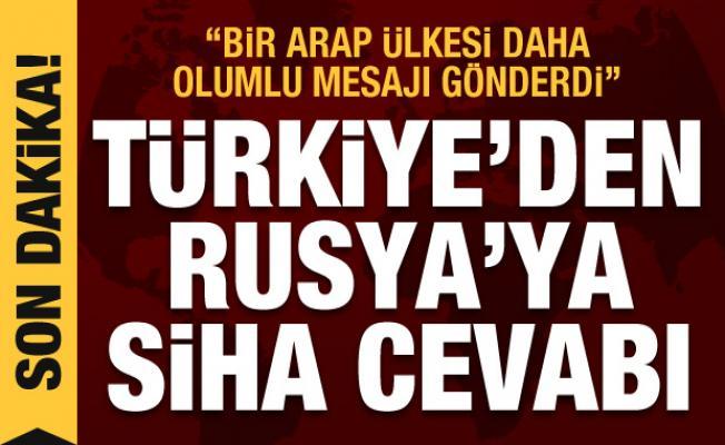 Çavuşoğlu'ndan Rusya'ya SİHA cevabı! BAE'den Türkiye'ye sürpriz mesaj