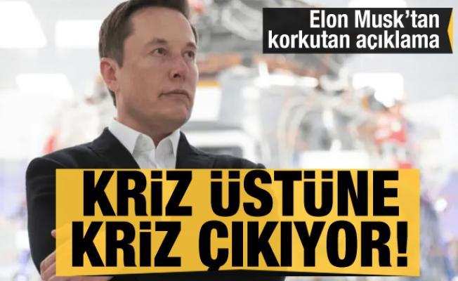 Çipten sonra şimdi de lastik krizi! Elon Musk'tan korkutan açıklama