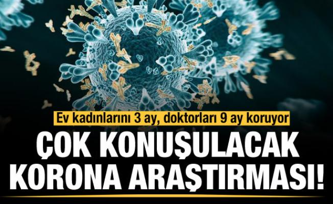 Çok konuşulacak antikor araştırması!