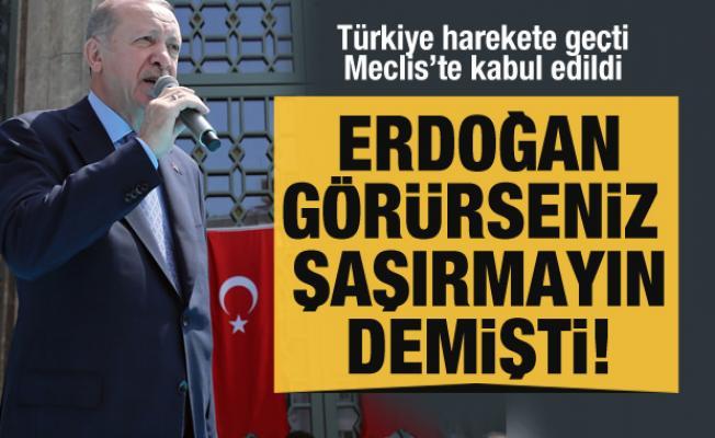 Cumhurbaşkanı Erdoğan şaşırmayın demişti! Türkiye o ülkede petrol arayacak!