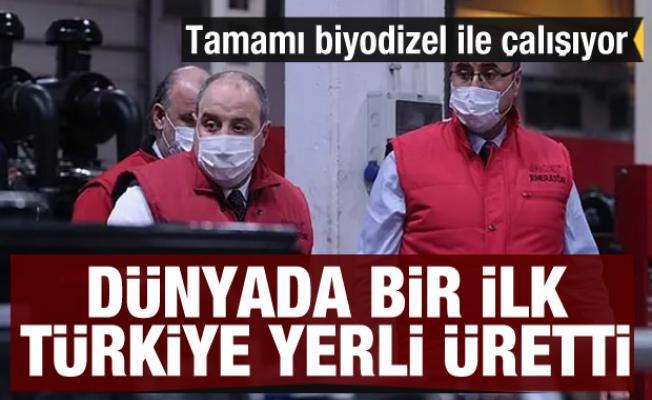 Dünyanın ilk tamamı biyodizel ile çalışan jeneratörü Türkiye'de üretildi