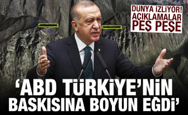 Dünyaya duyurdular: ABD Türkiye'nin baskısına boyun eğdi