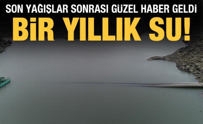 Edirne'de son yağışlarla birlikte barajlara 30 milyon metreküp su geldi