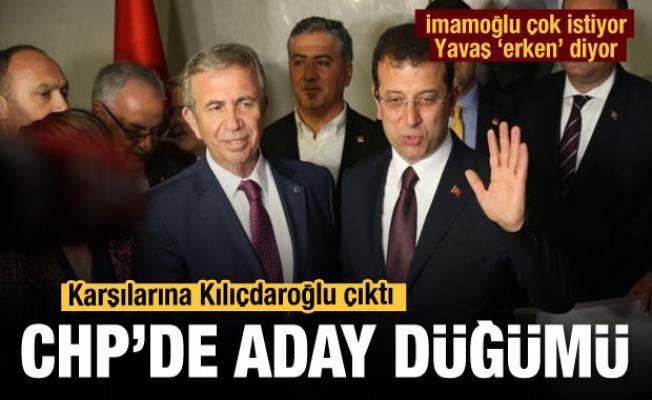 Ekrem İmamoğlu ve Mansur Yavaş'ın cumhurbaşkanı adaylığına Kılıçdaroğlu freni (mi)?
