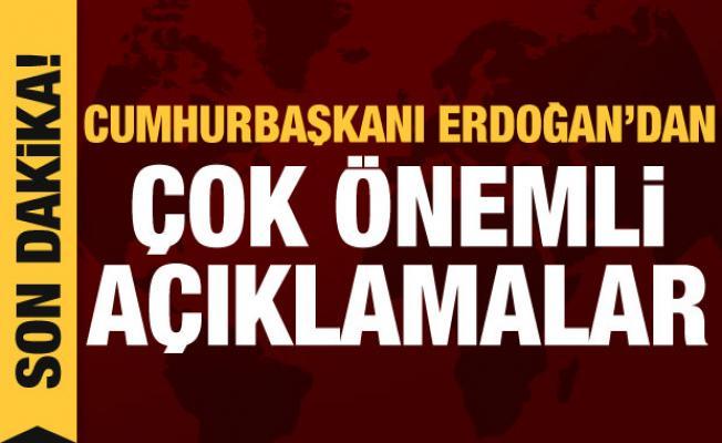 Erdoğan gençlerle bir araya geldi