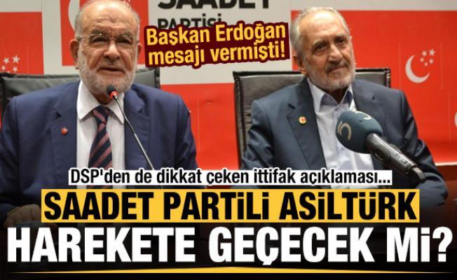 Erdoğan mesajı vermişti! Asiltürk harekete geçecek mi? DSP'den de ittifak açıklaması geldi