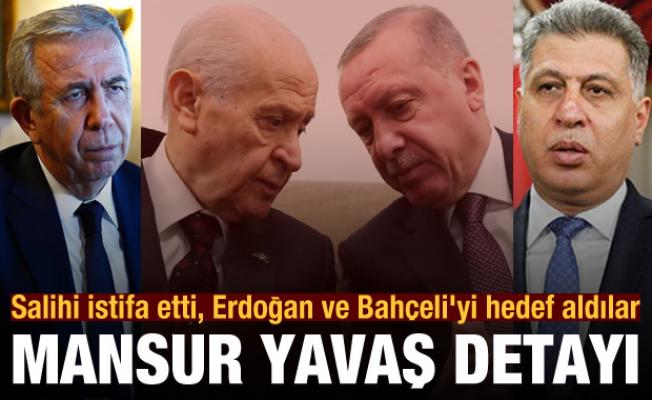 Erşat Salihi istifa etti, Erdoğan ve Bahçeli'yi hedef aldılar! Mansur Yavaş detayı