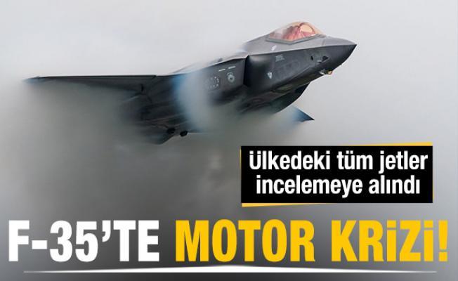 F-35'te motor krizi! Ülkedeki tüm jetler incelemeye alındı