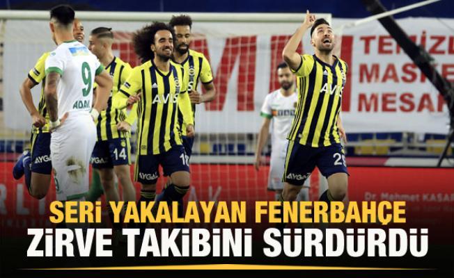 Fenerbahçe Kadıköy'de zirve takibini sürdürdü!