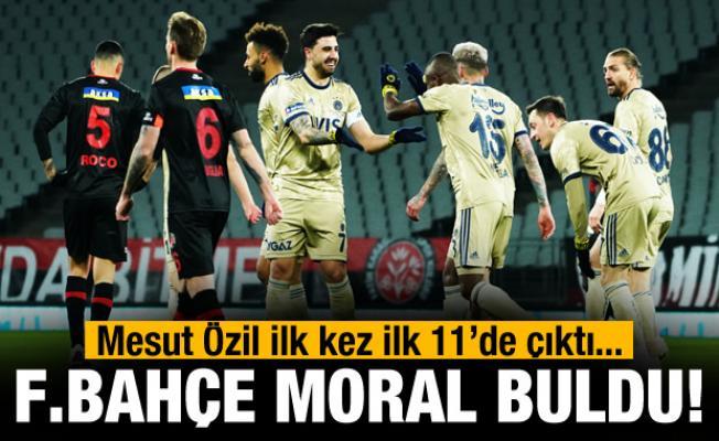 Fenerbahçe moral buldu!