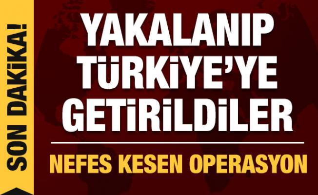 FETÖ'nün sözde Bağdat sorumlusu ile Erbil sorumlusu yakalanarak Türkiye'ye getirildi!