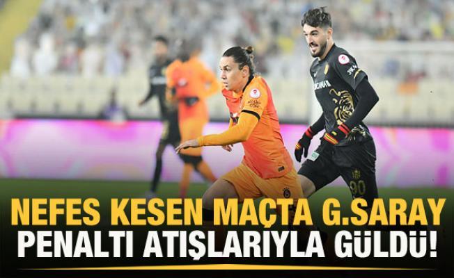 Galatasaray penaltılarda tur atladı
