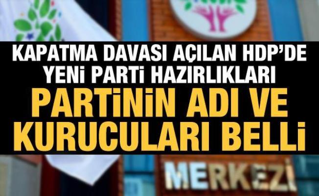 HDP sonrası için yeni parti hazırlığı iddiası! 'Parti adı ve liste hazır'