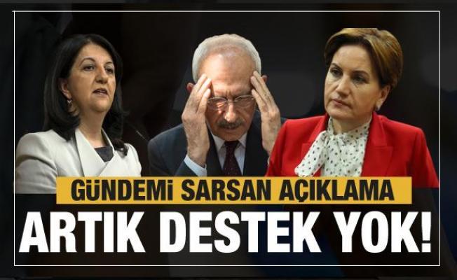 HDP'den Millet İttifakı'na yönelik bomba sözler! Buldan CHP ve İYİ Parti'ye rest