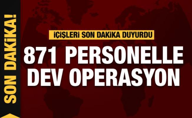 İçişleri son dakika duyurdu:  'Eren-11 Sehi Ormanları' operasyonu başlatıldı
