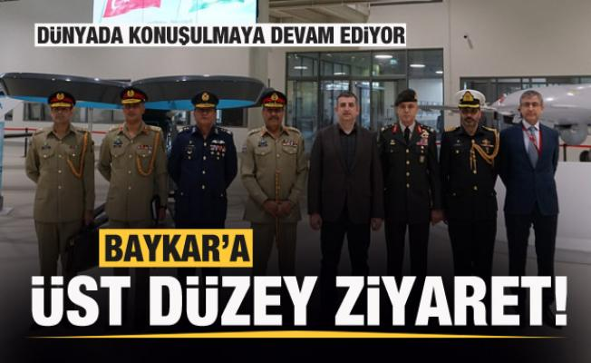 İHA-SİHA üreticisi Baykar'a dikkat çeken ziyaret!