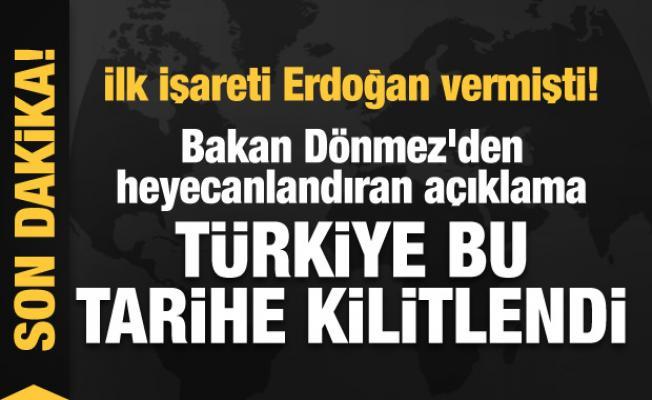 İlk işareti Erdoğan vermişti! Bakan Dönmez'den heyecanlandıran açıklama: Haziran'ı bekleyelim