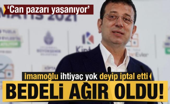 İmamoğlu ihtiyaç yok deyip iptal etti, Marmara'ya bedeli ağır oldu! 'Can pazarı yaşanıyor'