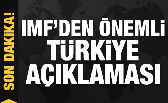 IMF'den Türkiye açıklaması: Hayati önem taşıyor