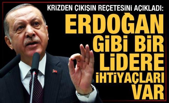 İngilizler reçeteyi yazdı: Krizden çıkmaları için Erdoğan gibi bir lidere ihtiyaçları var