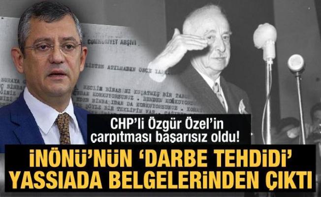 İnönü'nün 'darbe tehdidi' Yassıada belgelerinden çıktı: Özel'in çarpıtması başarısız oldu!
