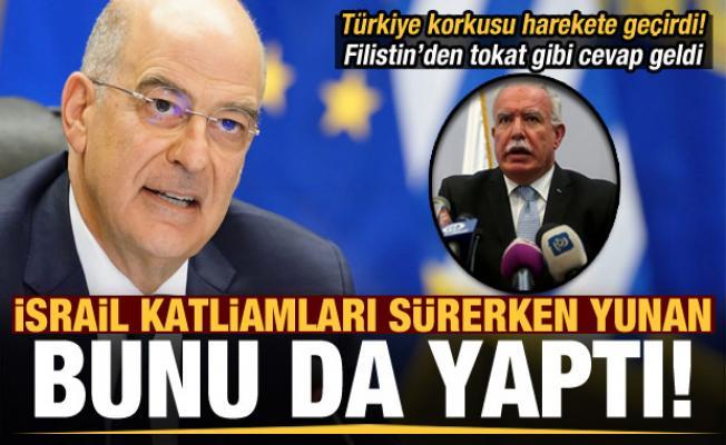 İsrail katliamları sürerken Yunanistan'da Filistin paniği! Türkiye anlaşma imzalar diye...