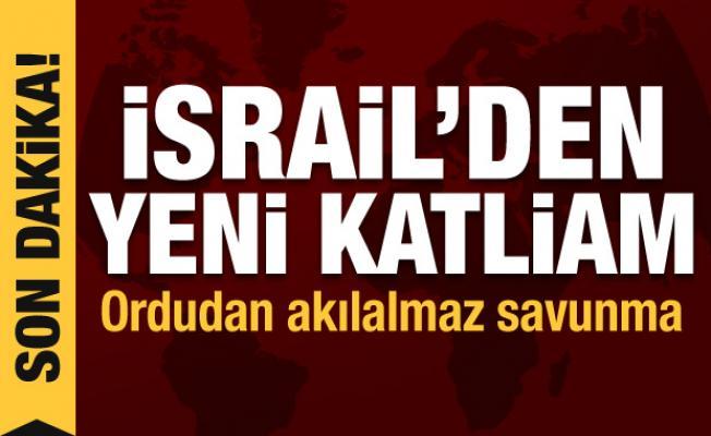 İsrail'den yeni katliam! Çok sayıda şehit ve yaralı var, ordudan akılalmaz savunma